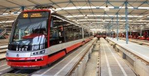 Rekonstrukce podpor kolejí ve vozovně Vokovice