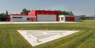 Letecká záchranná služba - základna Letiště České Budějovice